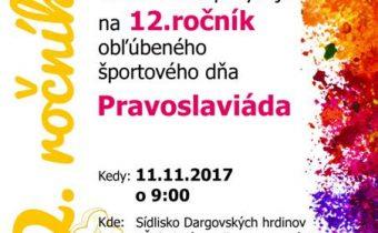 <s>11. november 2017 (sobota) Pravoslaviáda</s>