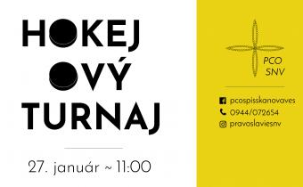 <s>27. januára 2018 (sobota) – Hokejový turnaj v Spišskej Novej Vsi</s>
