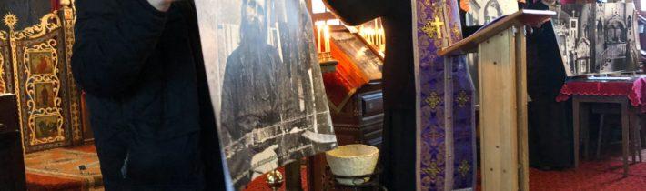 """18. marca 2018 sa uskutočnilo duchovné stretnutie na tému: """"OTEC ARCHIMANDRITA SÁVVA STRUVE"""" v Pravoslávnom chráme sv. archistratiha Michaila v Ladomirovej (pridané videá)"""