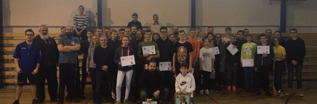15. decembra 2018 sa uskutočnil Mládežnícky florbalový turnaj v Bardejove