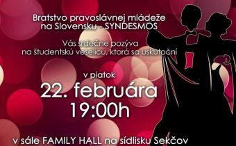 22. februára 2019 (piatok) – Ples BPM v Prešove