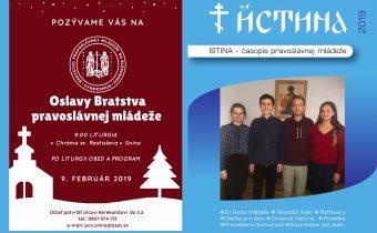 Vyšlo nové číslo časopisu Istina – január-február 2019
