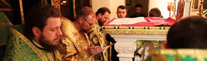 Vladyka Juraj svojou návštevou podporil veriacich Ukrajinskej pravoslávnej cirkvi Moskovského patriarchátu