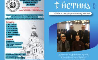 Vyšlo nové číslo časopisu Istina – apríl 2019