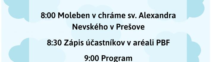 <s>1. júna 2019 (sobota) – Deň detí v Prešove</s>