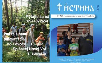 Vyšlo nové číslo časopisu Istina – jún 2019