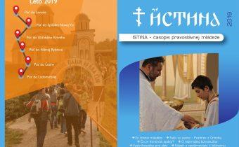 Vyšlo prázdninové dvojčíslo časopisu Istina –júl/august 2019