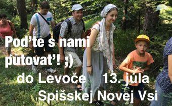 <s>13. júla a 9. augusta 2019 – PCO SNV srdečne pozýva na púte do Levoče (júl) a do SNV (august)</s>