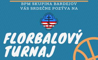 7. decembra 2019 (sobota) – Florbalový turnaj vBardejove