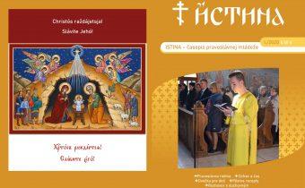 Vyšlo nové číslo časopisu Istina – január 2020