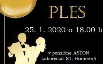 <s>25. 1. 2020 – Ples Humenné</s>