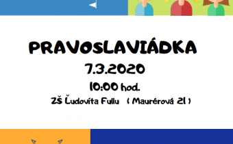 7. 3. 2020 (sobota) – Pravoslaviádka