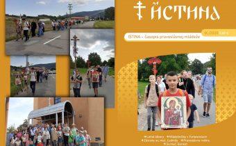 Vyšlo augustové a septembrové číslo časopisu Istina!